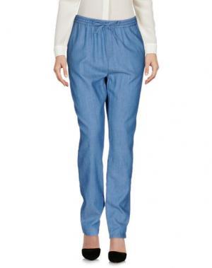 Повседневные брюки DES PETITS HAUTS. Цвет: пастельно-синий
