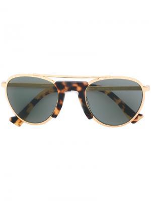 Солнцезащитные очки Petes Hotel Grey Ant. Цвет: металлический