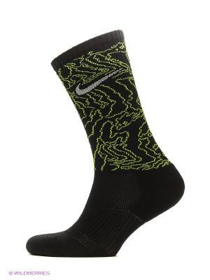 Носки NIKE 3PPK DRI-FIT TRIPLE FLY C 3 пары. Цвет: черный, зеленый, серый, белый
