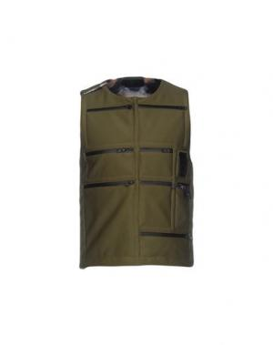 Куртка LETASCA. Цвет: зеленый-милитари