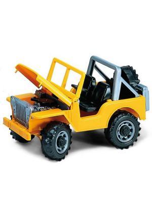 Джип Jeep Bruder. Цвет: красный