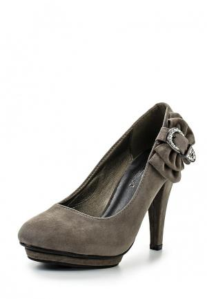 Туфли Lisaw. Цвет: серый