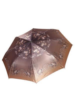 Зонт Fabretti. Цвет: коричневый