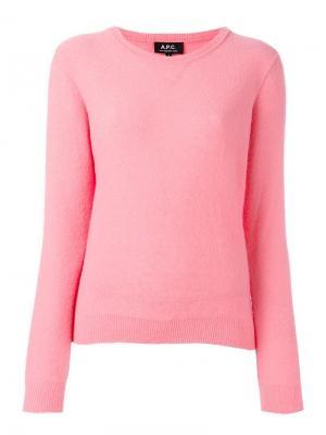 Джемпер Fac A.P.C.. Цвет: розовый и фиолетовый