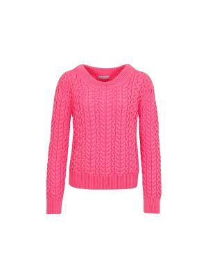 Джемпер Cozyme Wooly's. Цвет: розовый