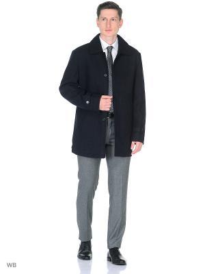 Пальто Donatto. Цвет: синий