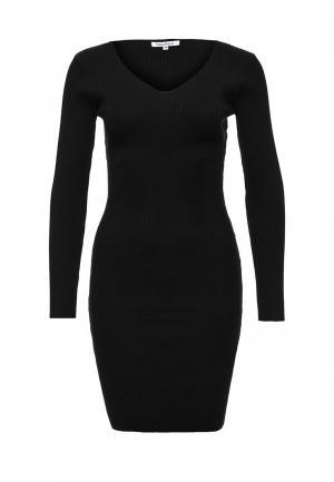 Платье Blue Oltre. Цвет: черный