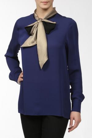 Блуза George Rech. Цвет: синий