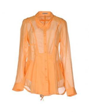 Pубашка LE JEAN DE MARITHÉ + FRANÇOIS GIRBAUD. Цвет: оранжевый
