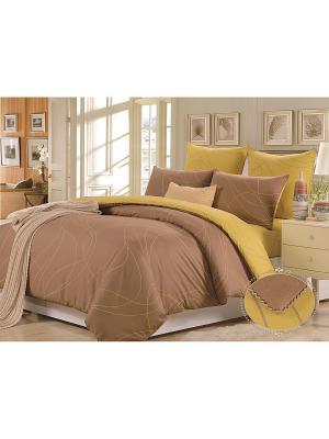 Комплект постельного белья, Наварра, Семейный KAZANOV.A.. Цвет: бежевый