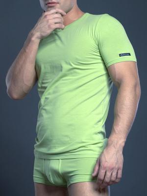 Футболка OPIUM. Цвет: зеленый
