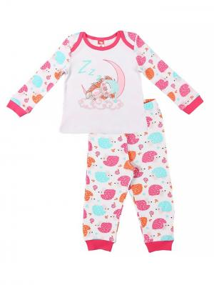 Пижама для девочки Cherubino. Цвет: розовый