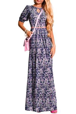 Платье FRANCESCA LUCINI. Цвет: мираж