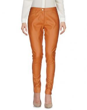 Повседневные брюки TOY G.. Цвет: желто-коричневый