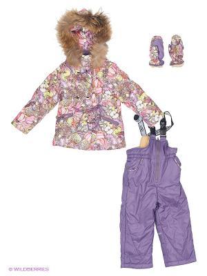 Комплект одежды Fobs. Цвет: сиреневый