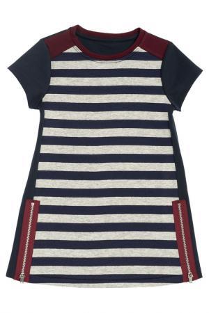 Платье Chicco. Цвет: темно-синий
