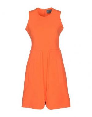 Короткое платье ANTIPODIUM. Цвет: оранжевый