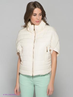 Куртка MELANY. Цвет: кремовый