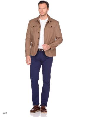 Пиджак сафари Пряник. Цвет: светло-коричневый