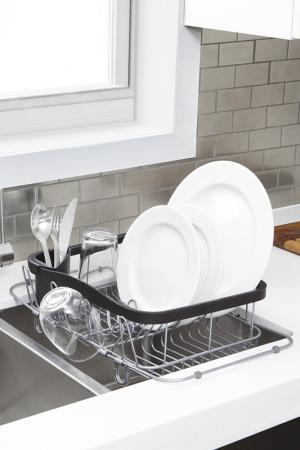Сушилка для посуды Sinkin UMBRA. Цвет: черный