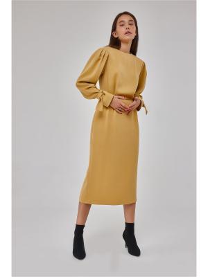 Платье Balu Mustard Katya Erokhina