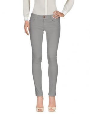 Повседневные брюки SWELL 65. Цвет: серый