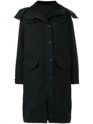 Пальто Portage Canada Goose. Цвет: чёрный