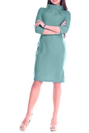 Платье Laura Bettini. Цвет: оливковый