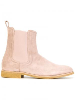 Классические ботинки Челси Represent. Цвет: розовый и фиолетовый