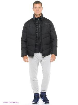Куртка ESS Down Jacket Puma. Цвет: черный