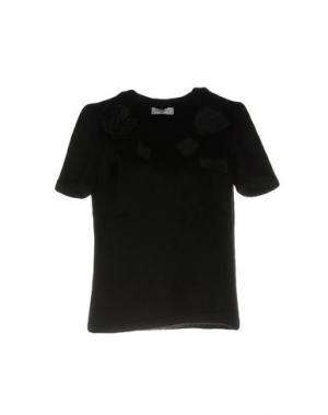 Блузка GAëLLE Paris. Цвет: черный