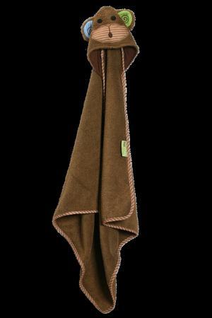 Детское полотенце с декоративным капюшоном Zoocchini. Цвет: multicolor