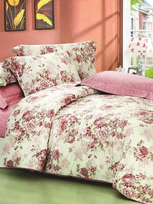 Постельное белье Antistress Collection - Амели Магия Ночи. Цвет: молочный, розовый, бордовый