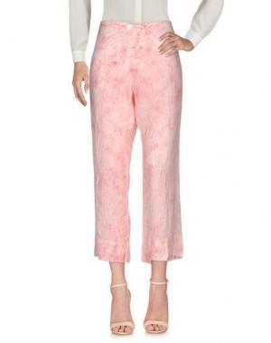 Повседневные брюки DOSA. Цвет: розовый