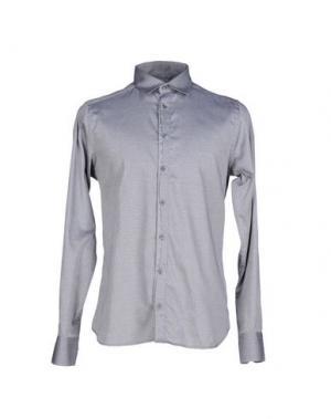 Pубашка HAMAKI-HO. Цвет: серый