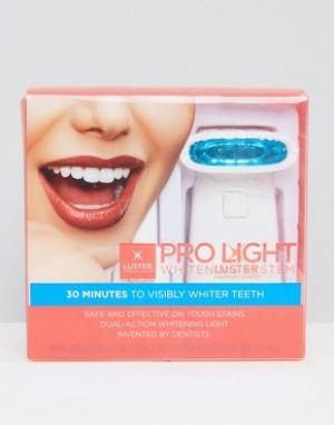 Beauty Extras Отбеливающая зубы система Luster Pro Light. Цвет: бесцветный