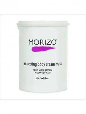 Morizo крем-маска для тела корректирующая. Цвет: кремовый