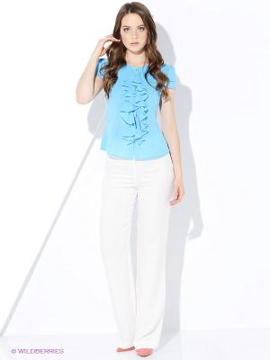 Блузка AVELON. Цвет: голубой
