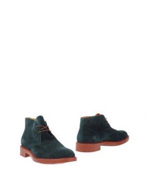 Полусапоги и высокие ботинки DOMENICO TAGLIENTE. Цвет: изумрудно-зеленый