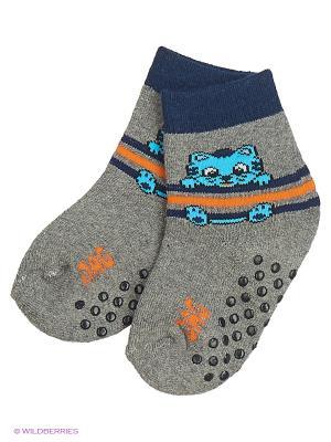 Махровые носки DAG. Цвет: серый меланж