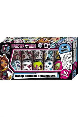 Наклейки и раскраски Monster High. Цвет: none