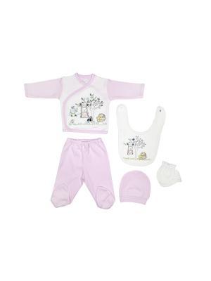 Комплект Bebitof Baby. Цвет: розовый