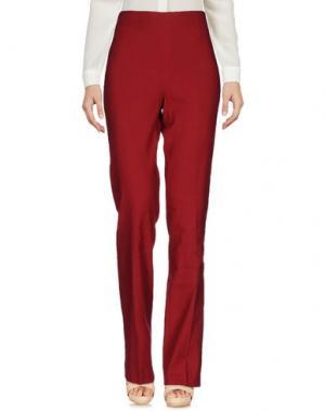 Повседневные брюки EMISPHERE. Цвет: кирпично-красный