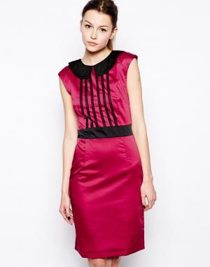 Hershey Pascual Платье-футляр Marie. Цвет: розовый