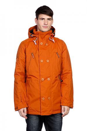 Куртка  Ag Commodore Jk Adobe Analog. Цвет: коричневый