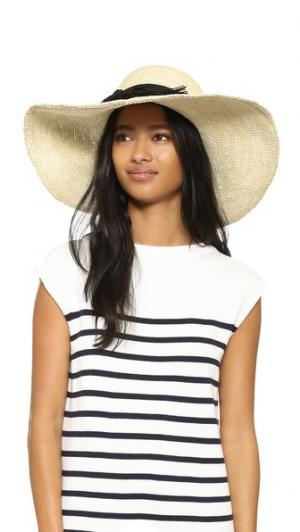 Ажурная шляпа Playa Artesano. Цвет: натуральный/черный