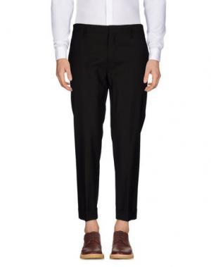 Повседневные брюки MARC JACOBS. Цвет: темно-коричневый