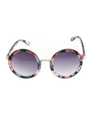 Солнцезащитные очки, iq format. Цвет: черный, прозрачный, розовый