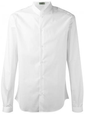 Рубашка Officer Collar Éditions M.R. Цвет: белый