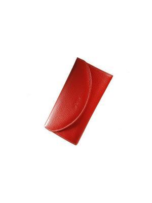 Кошелёк Forte. Цвет: красный